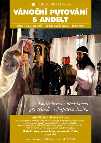Andělé budou v turnovském divadle vyprávět čtyři vánoční příběhy
