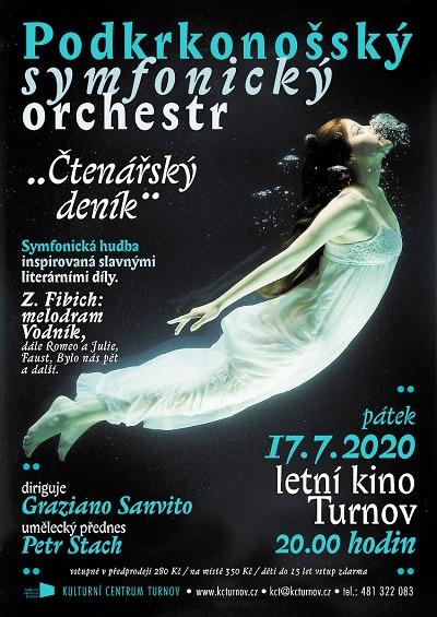 Podkrkonošský symfonický orchestr představí Čtenářský deník