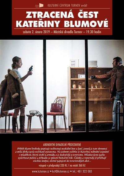 Mediální lynč zažije v turnovském divadle Kateřina Blumová