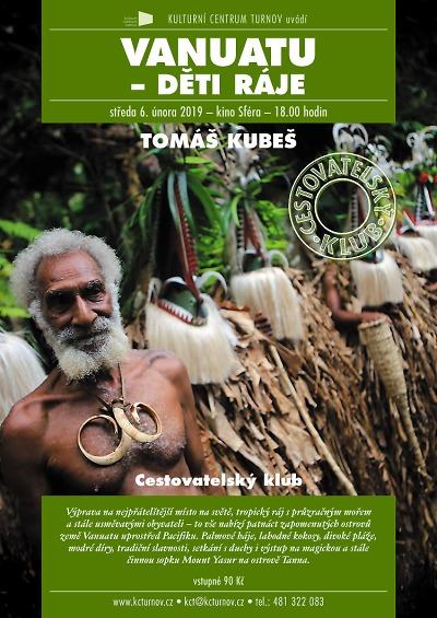 Do tropického ráje Vanuatu vás zanese cestovatelská beseda v Turnově