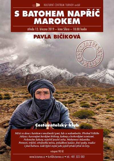 Pavla Bičíková bude v Turnově povídat o Maroku