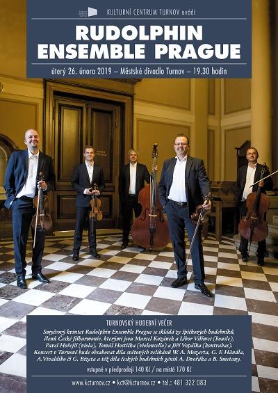 Rudolphin Ensemble Prague zahraje v Turnově Mozarta i Dvořáka