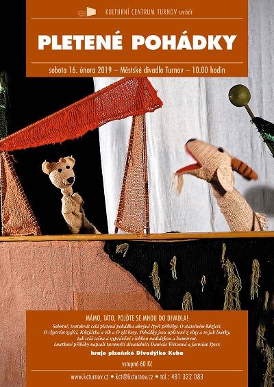 Pletené pohádky předvedou v turnovském divadle Čmukaři