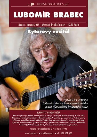 Lubomír Brabec předvede své umění při kytarovém recitálu