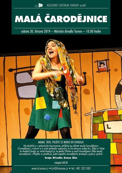 Malá čarodějnice přilétne do turnovského divadla