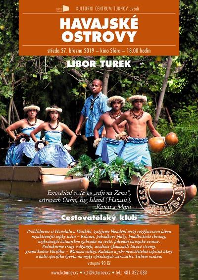 Cestovatelská beseda Libora Turka povede na Havajské ostrovy
