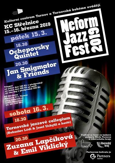 Turnovský Neform Jazz fest oslaví dvacetiny dvoudenním večírkem