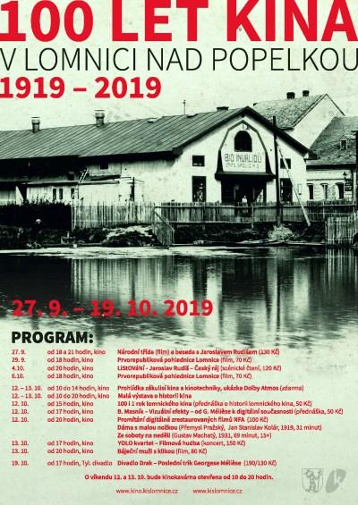 V Lomnici slaví 100 i 1 rok místního kina