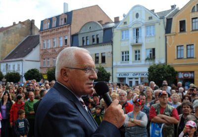 Prezident Václav Klaus s chotí navštíví Jablonec a Železný Brod