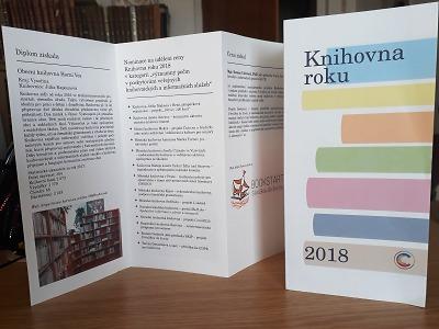 V nominaci na Knihovnu roku 2018 byla i turnovská knihovna
