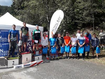 Krkonošské turné na kolečkových lyžích má finále v Lázních Bělohrad