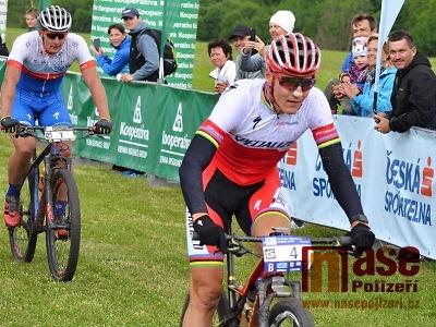 FOTO: Kulhavý vítězem závodu Kolo pro život z Vrchlabí do Špindlu