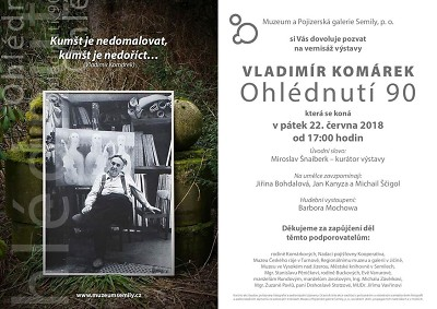 V Semilech zahájí výstavu k nedožitým devadesátinám malíře Komárka