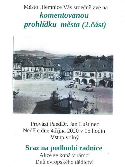 Jilemnicí provede Jan Luštinec