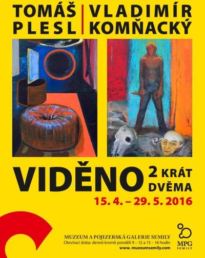 Semilská výstava představí výtvarníky Komňackého a Plesla