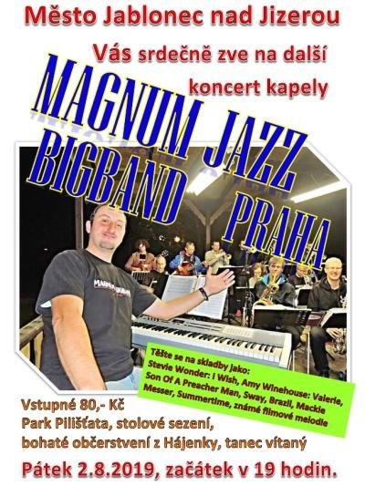 V jabloneckých Pilišťatech opět zahraje Magnum Jazz Bigband