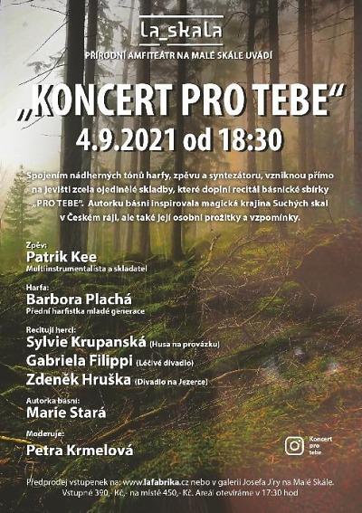 Ojedinělý koncert chystají v přírodním amfiteátru La Skala