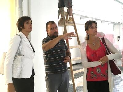Výstavba Center odborného vzdělávání jede podle plánu