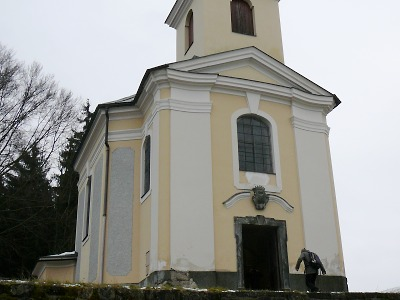 Velikonoční bohoslužba v kostele Na Poušti nad Železným Brodem