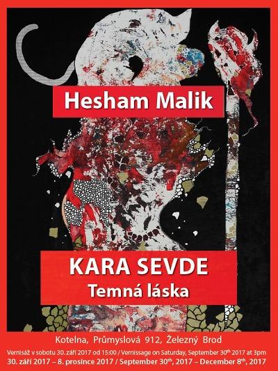 Kotelna v Železném Brodě hostí výstavu Heshama Malika