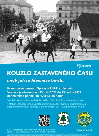 Historické okamžiky v Jilemnici zachytil fotograf Stanislav Šimůnek
