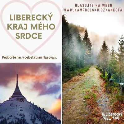 V anketě Kraj mého srdce lze Liberecký kraj podpořit do konce února