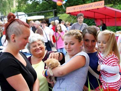 Obrazem: Krakonošova tržnice přilákala do Roztok opět tisíce návštěvníků