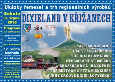 Křižany opět rozezní tradiční festival dixielandů