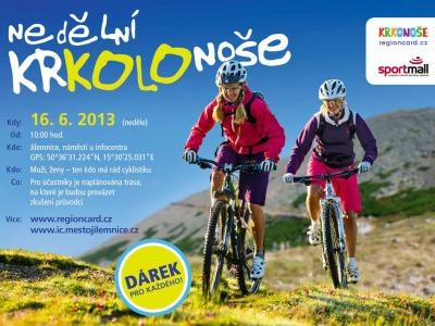 Připravenost cyklistů na letní sezonu prověří nedělní Krkolonoše