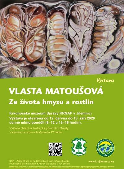 Obrazy Ze života hmyzu a rostlin uvidíte v jilemnickém muzeu