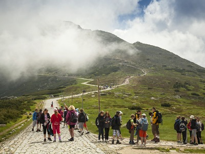 V roce 2018 měly Krkonoše o půl milionu víc návštěv