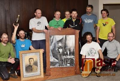 FOTO: K70 illegal se účastnilo pět družstev, nejrychlejší Spartak Police