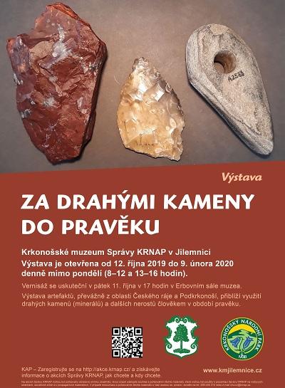 Za drahými kameny do pravěku do Krkonošského muzea