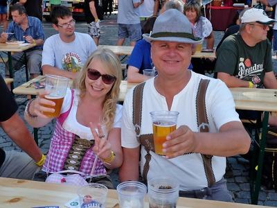 Obrazem: Krkonošské pivní slavnosti ve Vrchlabí 2018