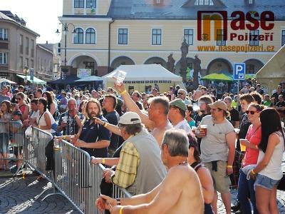 Jilemnické náměstí opět po roce ovládnou Krkonošské pivní slavnosti