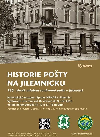 Krkonošské muzeum představuje historii pošty na Jilemnicku