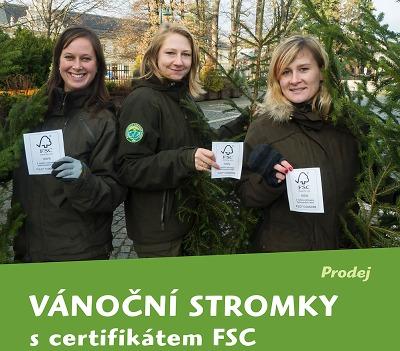 Správa KRNAP dá opět do prodeje vánoční stromky s certifikátem FSC