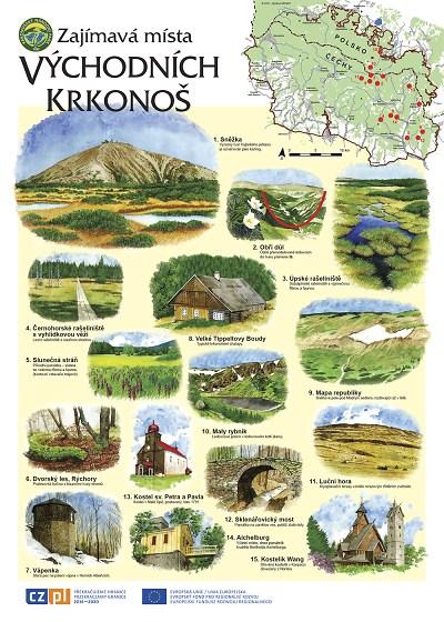 Správa KRNAP vydala výukové postery. Zájemci je mohou získat zdarma