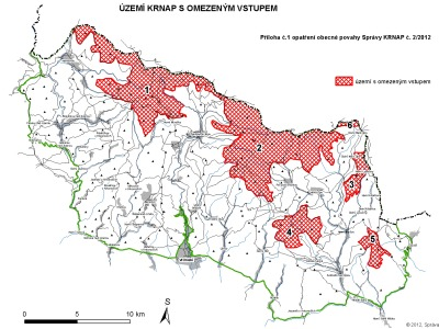 Kvůli borůvkářům omezuje Správa KRNAP vstup do části Krkonoš
