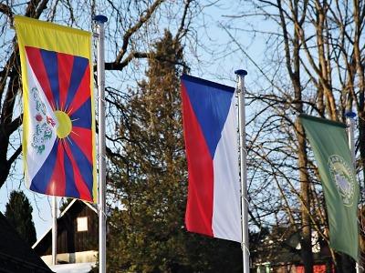 Správa KRNAP opět vyvěsí tibetskou vlajku