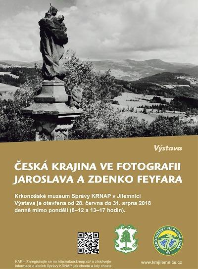 Krkonošské muzeum ukazuje českou krajinu na Feyfarových fotografiích