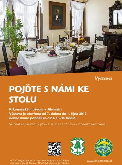 Krkonošské muzeum v Jilemnici zve ke stolu