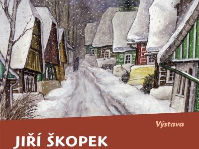 Výběr z tvorby malíře Jiřího Škopka ukazuje jilemnické muzeum