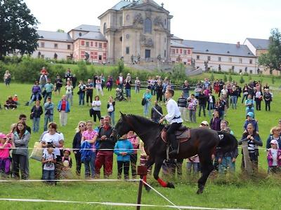 Slavnosti koní, historie a řemesel pořádají v Kuksu