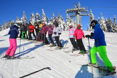 Zimní sezona v Tanvaldě na sportovce