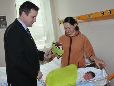 Prvním občánkem roku 2013 v Libereckém kraji je Kýril Timofiyev