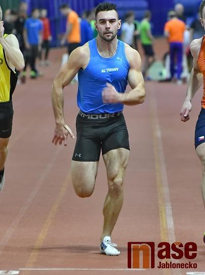 Sprinter Ladislav Víla na halové středě vylepšil rekord AC Turnov