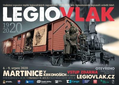 Legiovlak postojí na martinickém nádraží kvůli změnám v srpnu šest dní