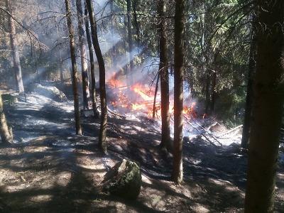 Pozor na ohně v zahradách, varuje občany město Jablonec