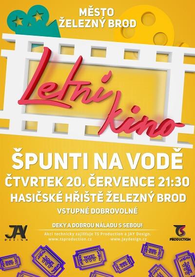 Letní kino v Železném Brodě promítá film Špunti na vodě